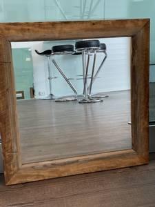 Bilde av Klart speil i treramme